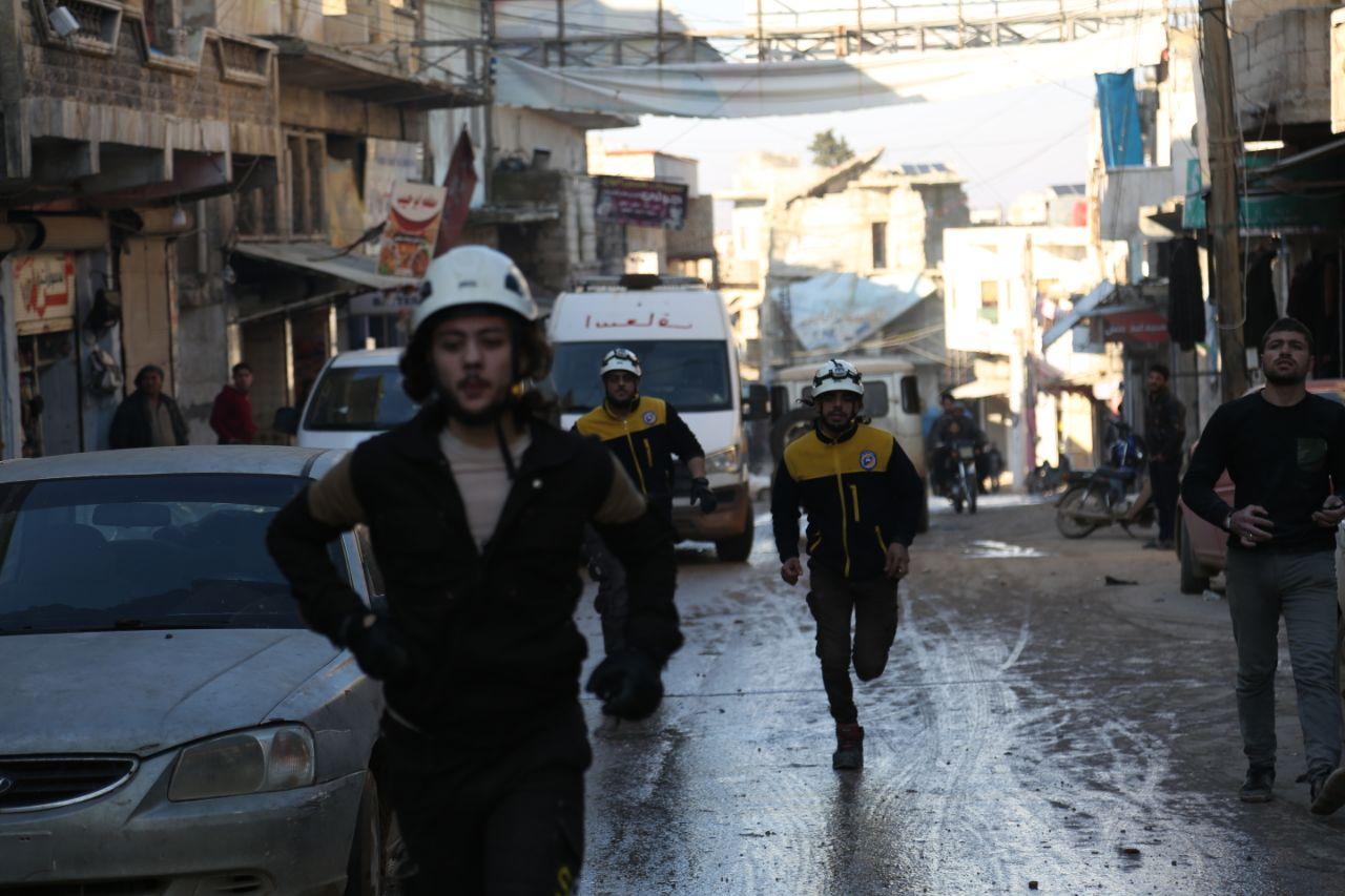 الدفاع المدني يكشف عن حصيلة الضحايا من المدنيين بسبب قصف النظام السوري خلال الأسابيع الأخيرة