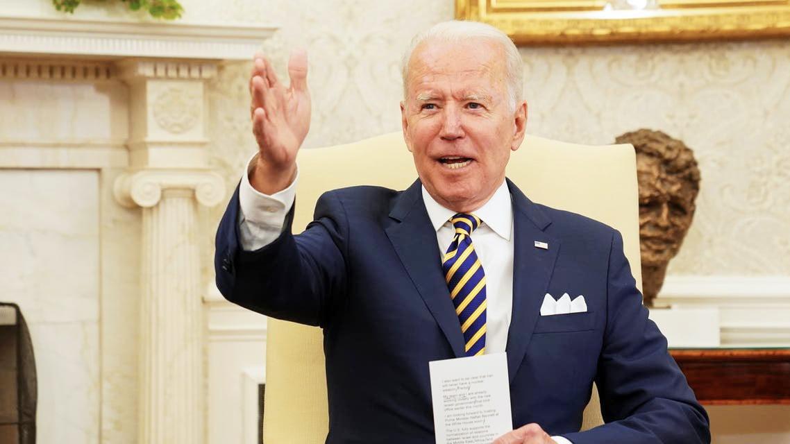 بايدن: لن تحصل إيران على السلاح النووي وأنا في السلطة