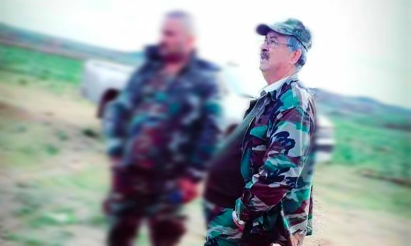 """""""نواف البشير"""" يعرض خدماته على إيران ويتعهد بتوسيع نفوذها شرقي سوريا"""