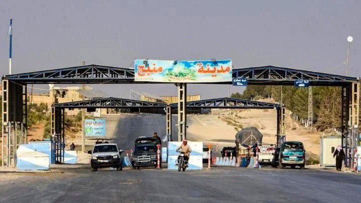 """الجيش الوطني يعيد فتح معبر """"عون الدادات"""" شرق حلب"""