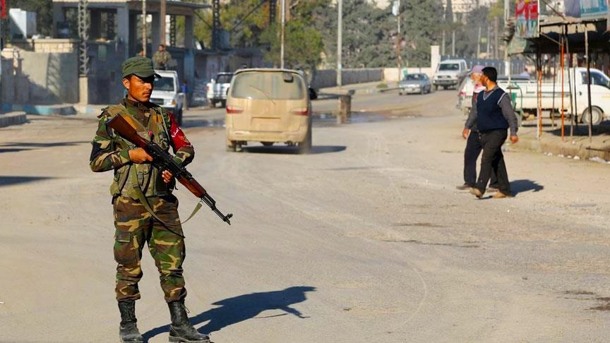 حملة أمنية ضد تجار المخدرات شمال حلب