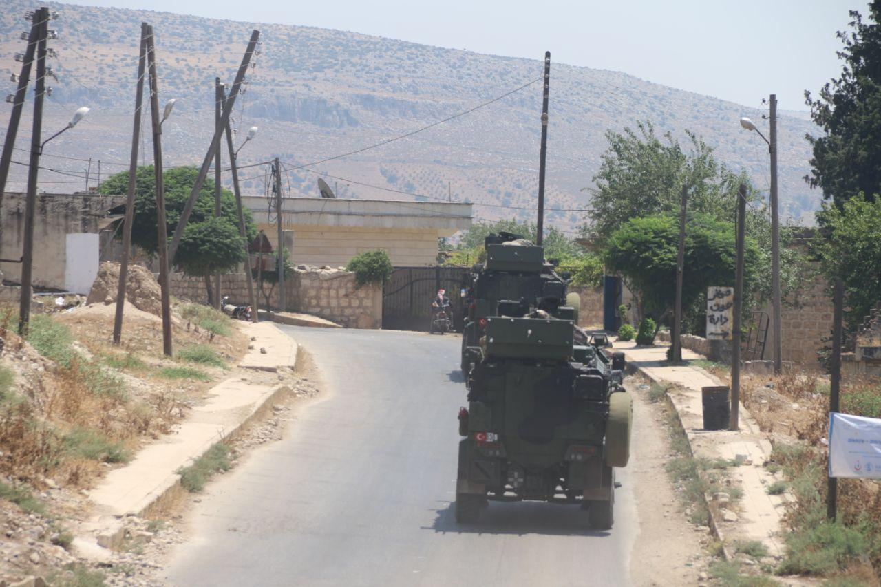 """بيان للفعاليات الشعبية بمنطقة """"جبل الزاوية"""" جنوب إدلب يطالب الضامن التركي بحماية المدنيين"""