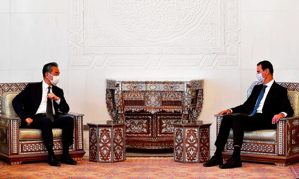 الاقتصاد السوري في حالة خراب والصين تستطلع الفرص