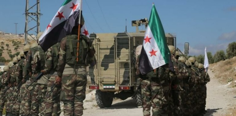 """الجيش الوطني يُدمِّر غرفة عمليات لتنظيم """"قسد"""" ويقتل عدداً من عناصرها شرق حلب"""