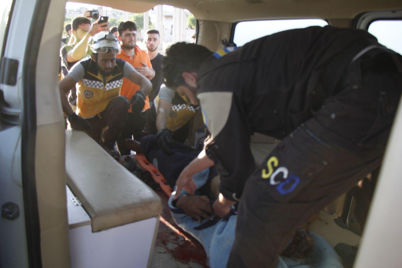 الدفاع المدني يحذر من ارتفاع حوادث السير بعد وفاة شاب في جسر الشغور