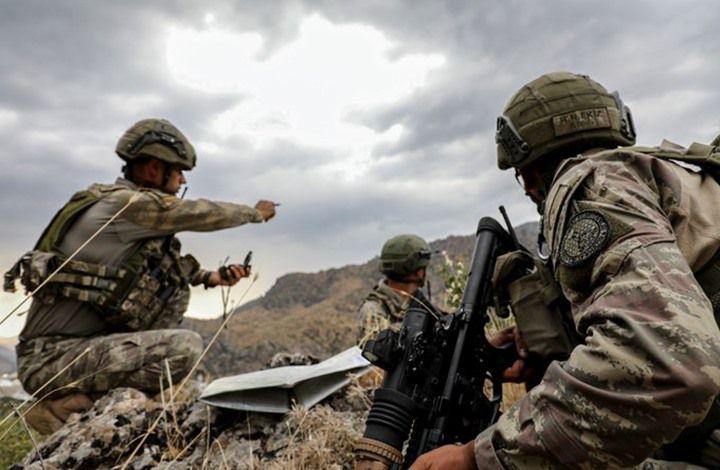 """القوات التركية تُحيّد مجموعة من """"قسد"""" شمالي سوريا"""