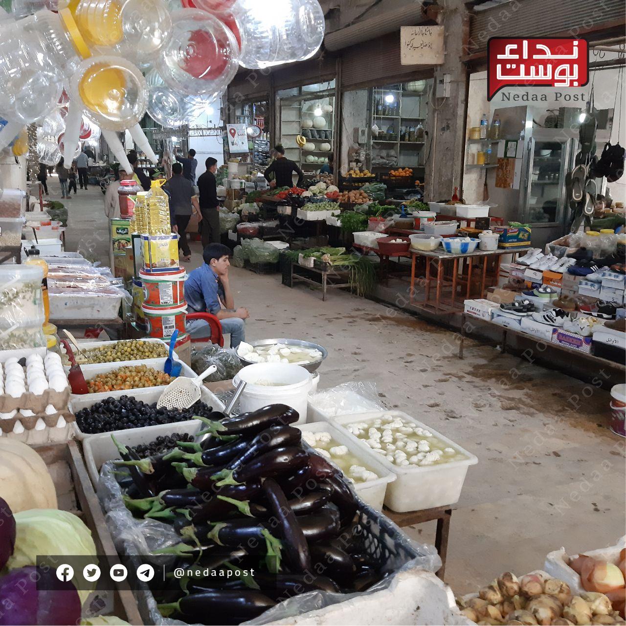 حكومة الإنقاذ تصدر قراراً بمنع دخول الباعة الجوالين إلى إدلب