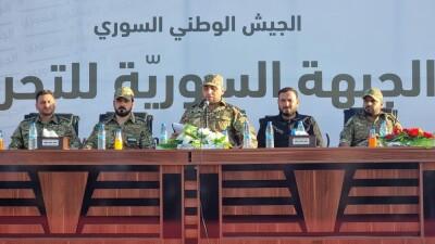 """فصيل جديد في الجيش الوطني يندمج مع """"الجبهة السورية للتحرير"""""""