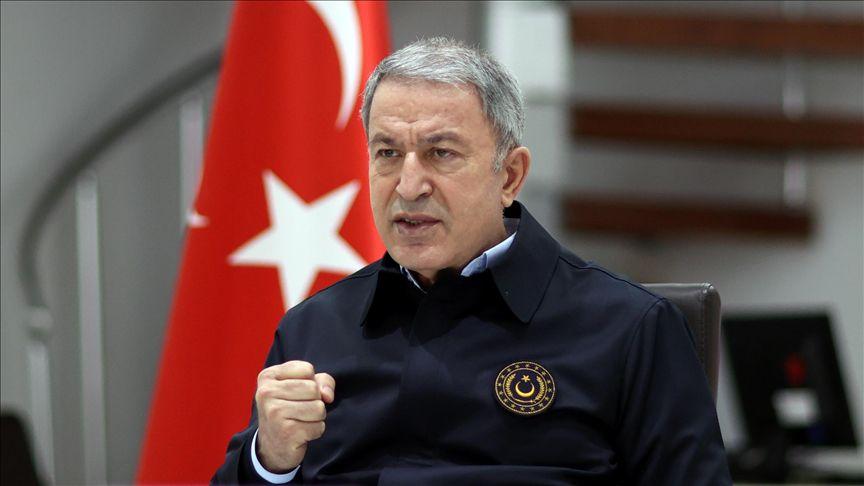 وزير الدفاع التركي يوجّه ردّاً حازماً لروسيا بخصوص تنفيذ اتفاق إدلب