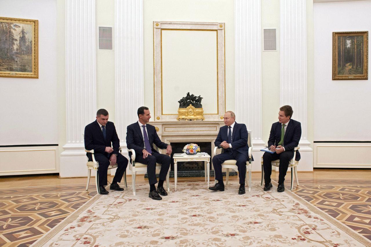 روسيا تتحدث عن سبب سريّة زيارة بشار الأسد إلى موسكو