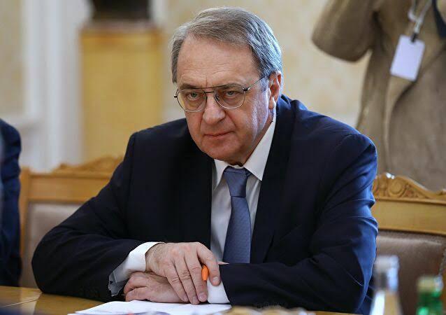 """بوغدانوف يلتقي وفداً من """"مسد"""" في موسكو"""