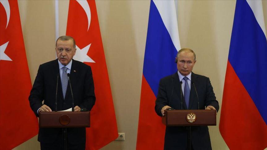 """بيان من """"الكرملين"""" بخصوص زيارة أردوغان إلى روسيا"""