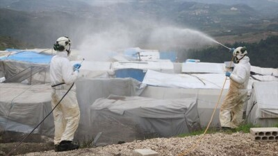 """""""كورونا"""".. 4 مناطق في الشمال السوري ذات خطورة عالية جداً"""