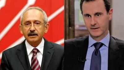 معارض تركي: بشار الأسد بعث رسالة إلى كليجدار أوغلو ودعاه لزيارة دمشق