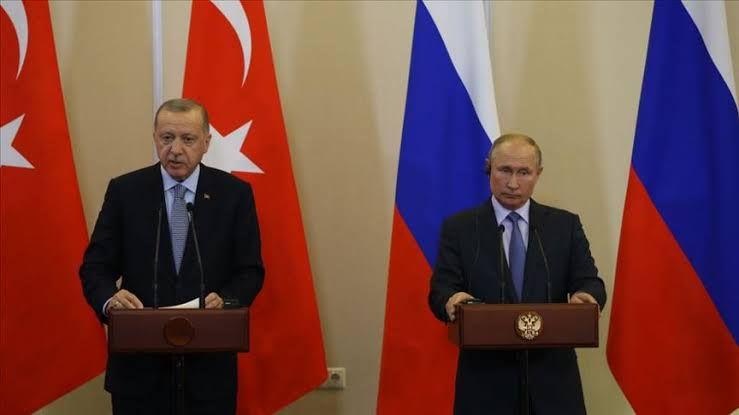 أردوغان: بحثت مع بوتين إيجاد حل نهائي في سورية وحددنا خارطة طريق لذلك