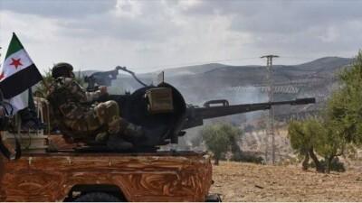مواجهات بين الجيش الوطني السوري وقوات الأسد شرقي حلب