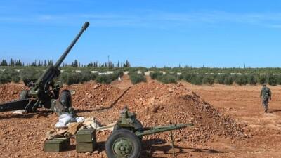 قوات النظام السوري تصعّد من قصفها المدفعي بريف إدلب