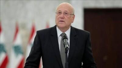 ميقاتي: لن أزور سوريا دون موافقة المجتمع الدولي