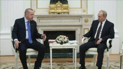 جاويش أوغلو: الملف السوري محور لقاء أردوغان وبوتين