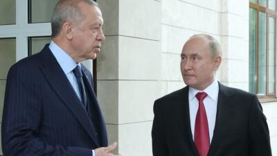 أردوغان يتحدث عن لقائه مع بوتين