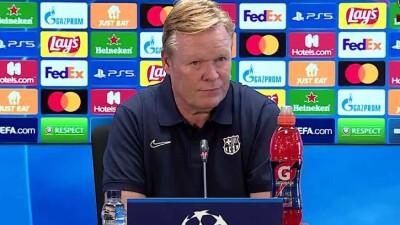 """كيف برَّر كومان هزيمة """"برشلونة"""" الثقيلة أمام """"بنفيكا""""؟"""
