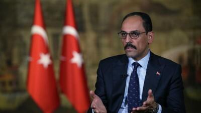 قالن: تركيا لم تطمع بأراضي سورية واضطرت للتدخل فيها من أجل أمنها وأمن السوريين