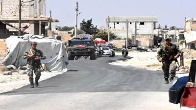 """نظام الأسد ينتقل بـ""""التسويات"""" إلى """"إنخل"""" شمال درعا"""
