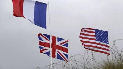 الولايات المتحدة وبريطانيا وفرنسا ترفض التطبيع مع النظام السوري قبل الحلّ السياسيّ