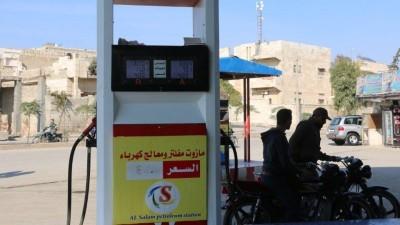 """""""وتد"""" ترفع أسعار المحروقات في إدلب للمرة الخامسة خلال 28 يوماً"""