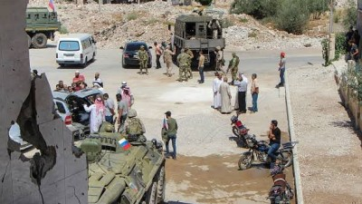 """النظام السوري يبدأ """"التسويات"""" بريف درعا الشرقي انطلاقاً من """"نصيب"""""""