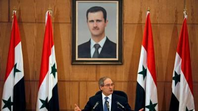 فيصل المقداد يتحدث عن علاقات النظام السوري مع تركيا