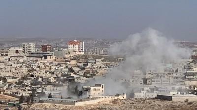 """قتلى وجرحى بقصف لقوات الأسد على """"سرمدا"""" شمال إدلب"""