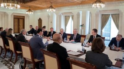 بشار الأسد يلتقي مبعوث بوتين في دمشق