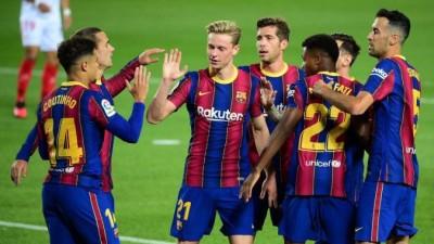 """""""برشلونة"""" ينتفض ويحقق فوزاً عريضاً على """"فالنسيا"""""""
