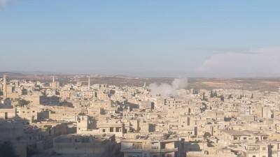 """قوات الأسد تقصف مدينة """"أريحا"""" وتُوقِع عشرات الضحايا"""