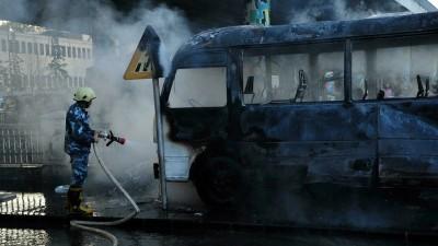 """مركز """"جسور"""": 3 جهات محتملة تقف خلف تفجير دمشق"""