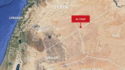 """غارات جوية تستهدف قاعدة التحالف الدولي في """"التنف"""""""