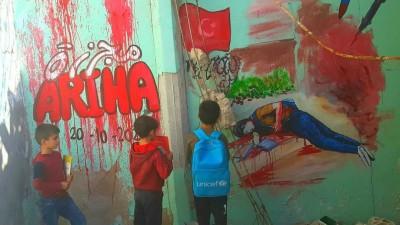 الكوادر التدريسية وطلاب المدارس فريسة لمدفعية الأسد في أريحا