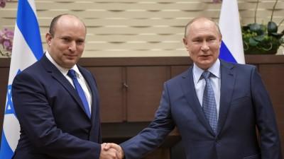 """انطلاق لقاء الرئيس الروسي ورئيس الوزراء الإسرائيلي في """"سوتشي"""""""