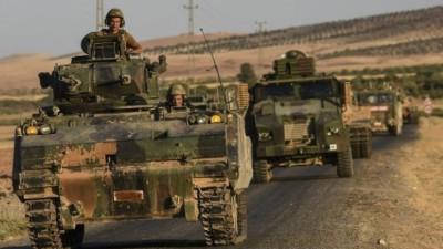 الجيش التركي يرسل تعزيزات عسكرية إلى محاور شرق الفرات