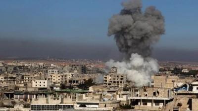 """عاجل ll مراسل """"نداء بوست"""": قوات النظام السوري تستهدف مدينة الدانا شمال إدلب بقذائف المدفعية الثقيلة"""