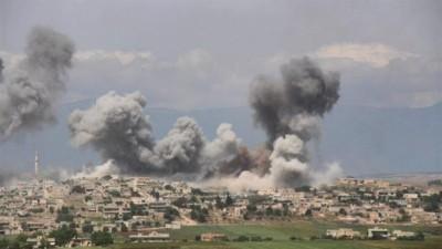 قصف لقوات الأسد على جبل الزاوية يودي بحياة مدني