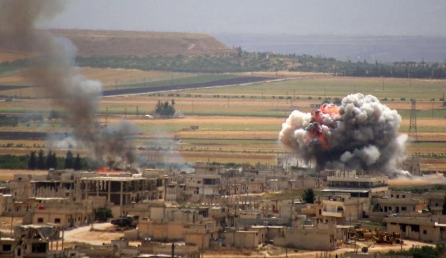 """قوات الأسد تواصل تصعيدها في """"سهل الغاب"""""""