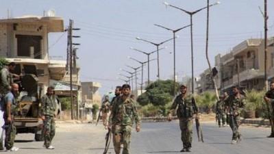 """بعد حَرْق منازل فيها.. قوات الأسد تُجري تسويات في """"ناحتة"""""""