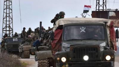 قوات الأسد تستكمل عمليات التسوية في مناطق اللواء الثامن المدعوم روسيّاً