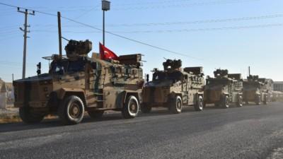 """دورية مشتركة بين القوات التركية والشرطة الروسية في ريف """"عين العرب"""" الشرقي"""