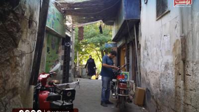 """عدسة """"نداء بوست"""" داخل سوق ساروجة بالعاصمة دمشق"""