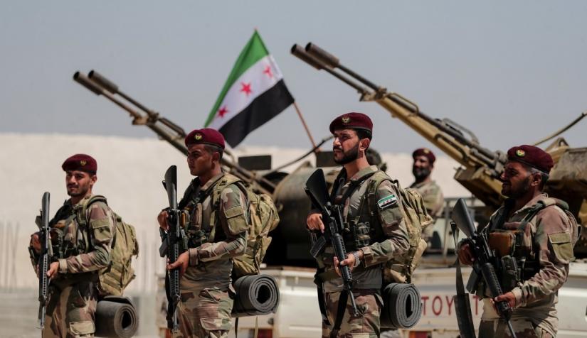 """الجيش الوطني يحبط محاولة تسلل لقوات """"قسد"""" في عفرين"""