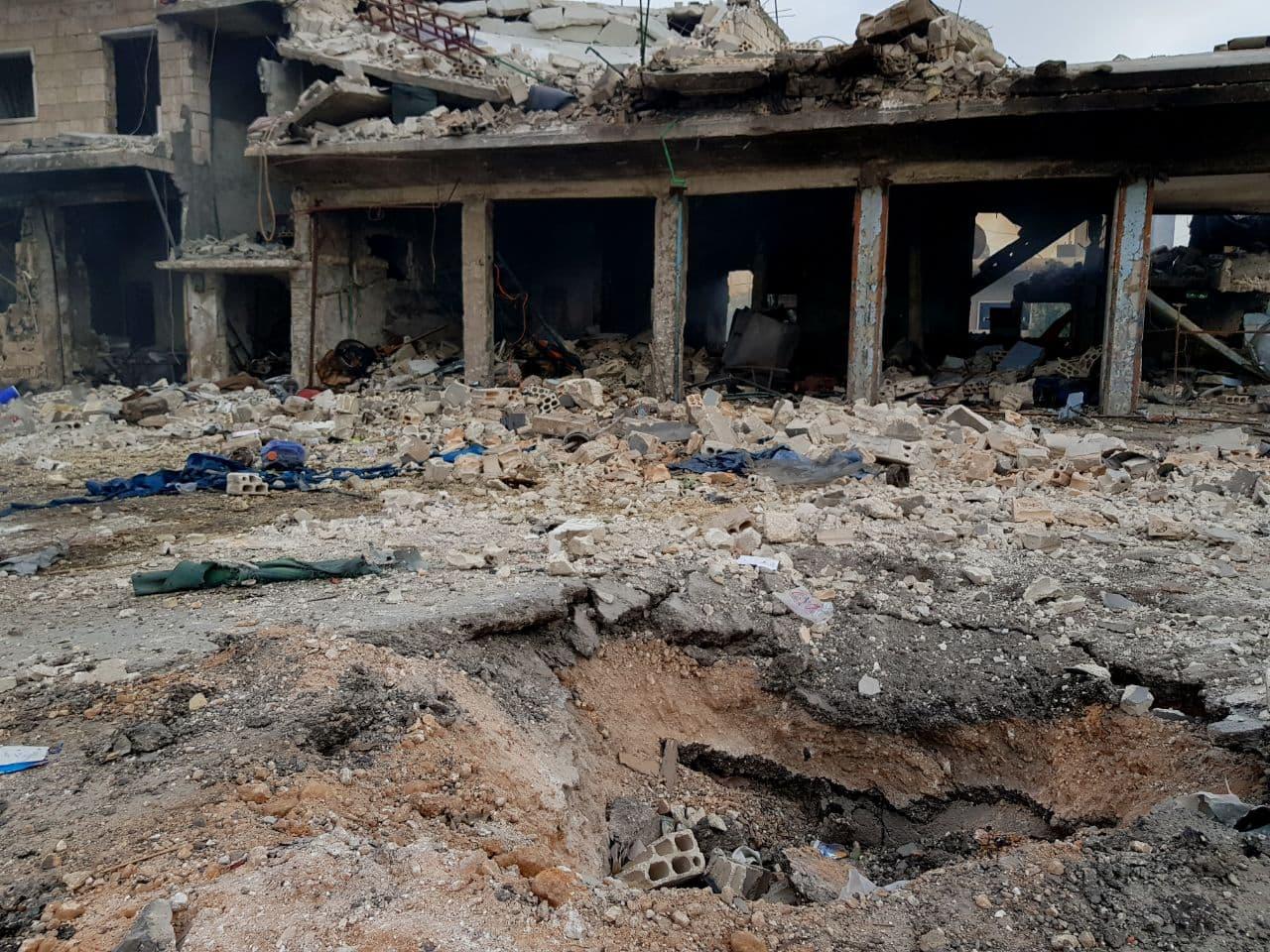 تصعيد من قِبل النظام السوري وروسيا يستهدف ريفَيْ إدلب واللاذقية
