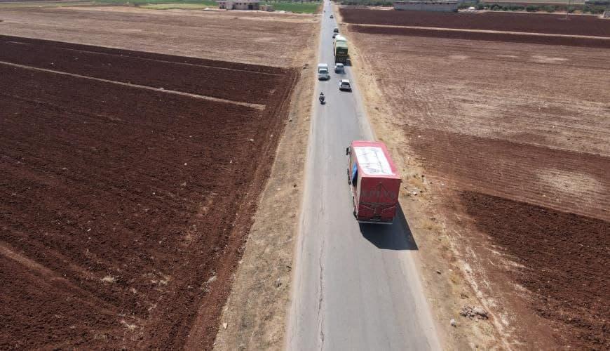 بيان للخارجية الروسية بخصوص إيصال المساعدات إلى إدلب عبر خطوط التماسّ